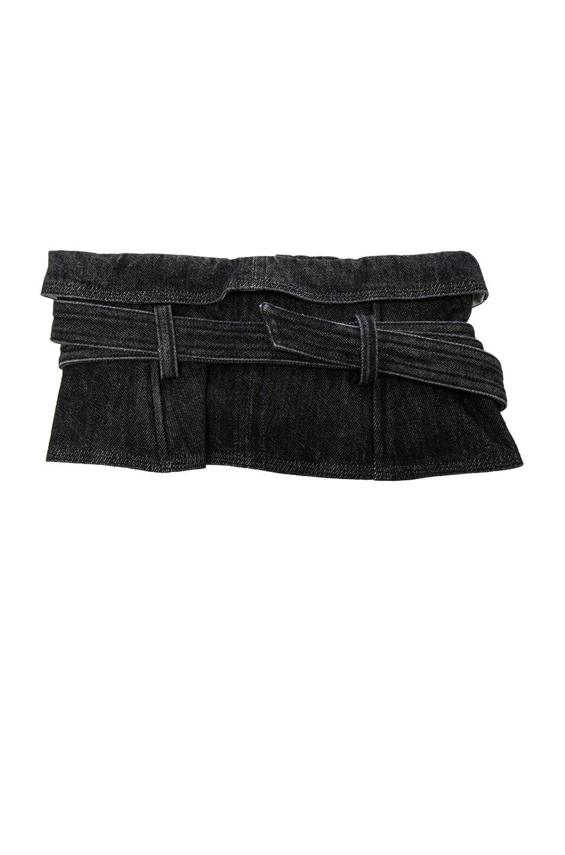 Image 2 of Isabel Marant Erika Waist Belt in Faded Black