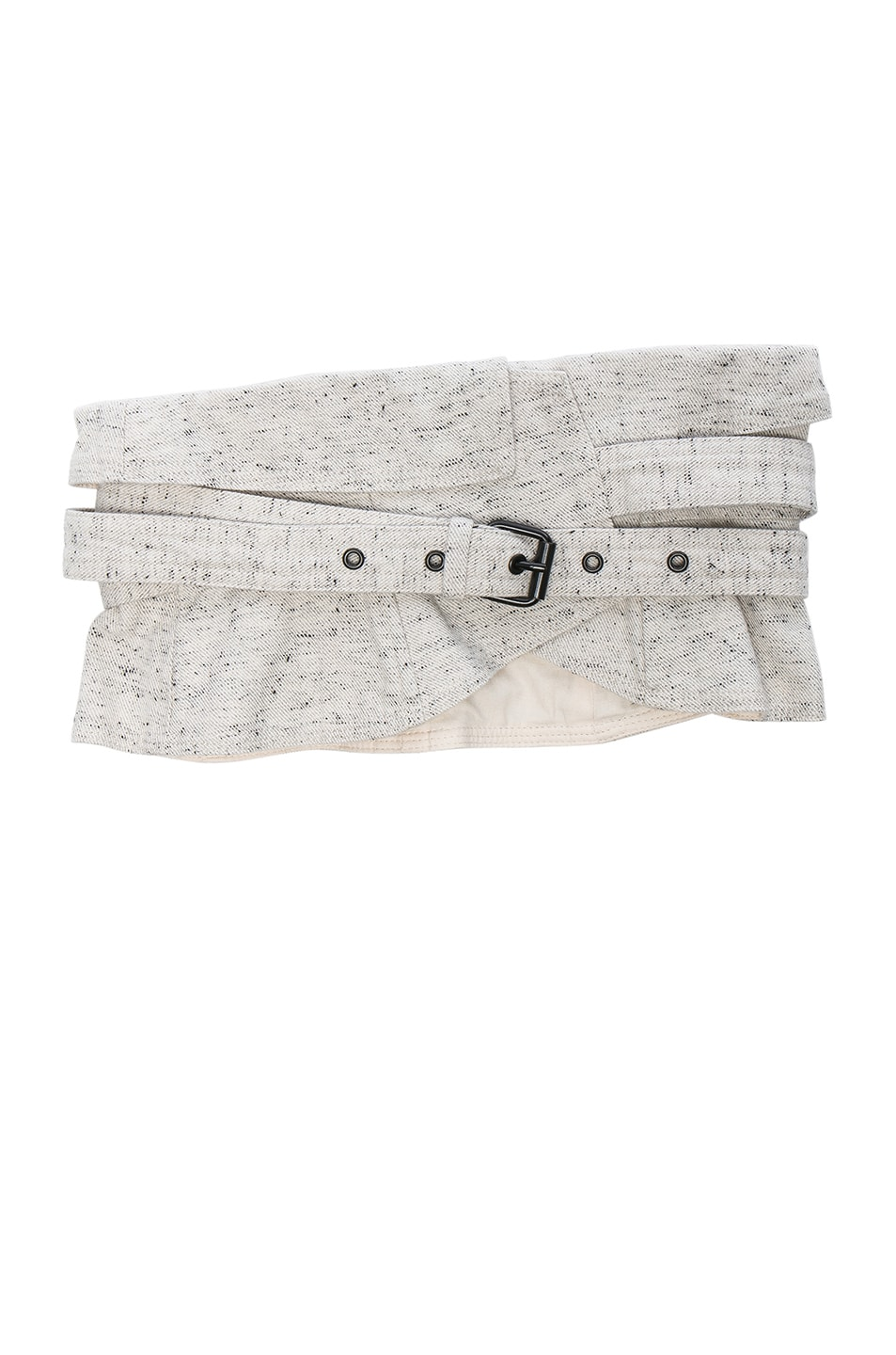 Image 1 of Isabel Marant Erika Waist Belt in Chalk