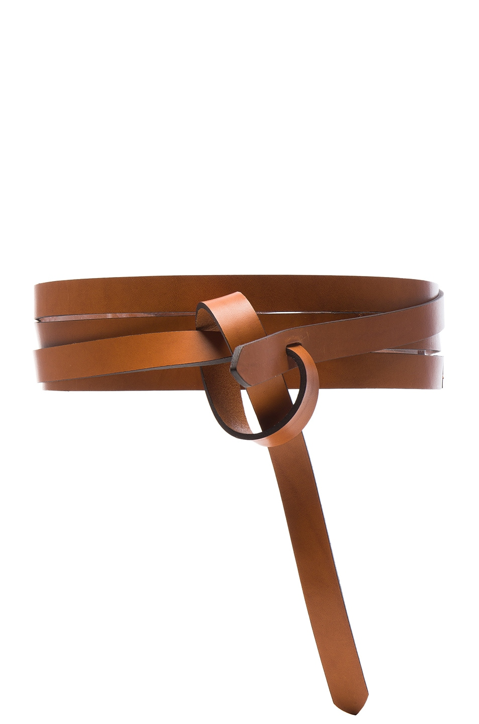 Image 1 of Isabel Marant Bow Belt in Natural