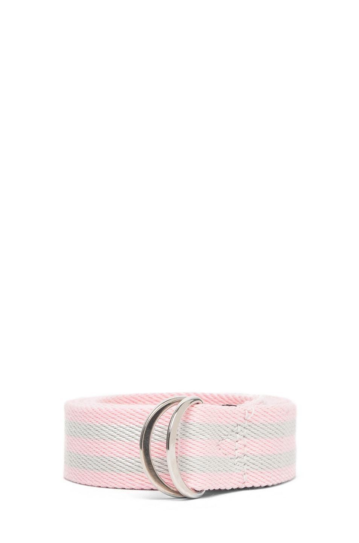 Image 1 of Isabel Marant Cadwell Stripe Belt in Rose