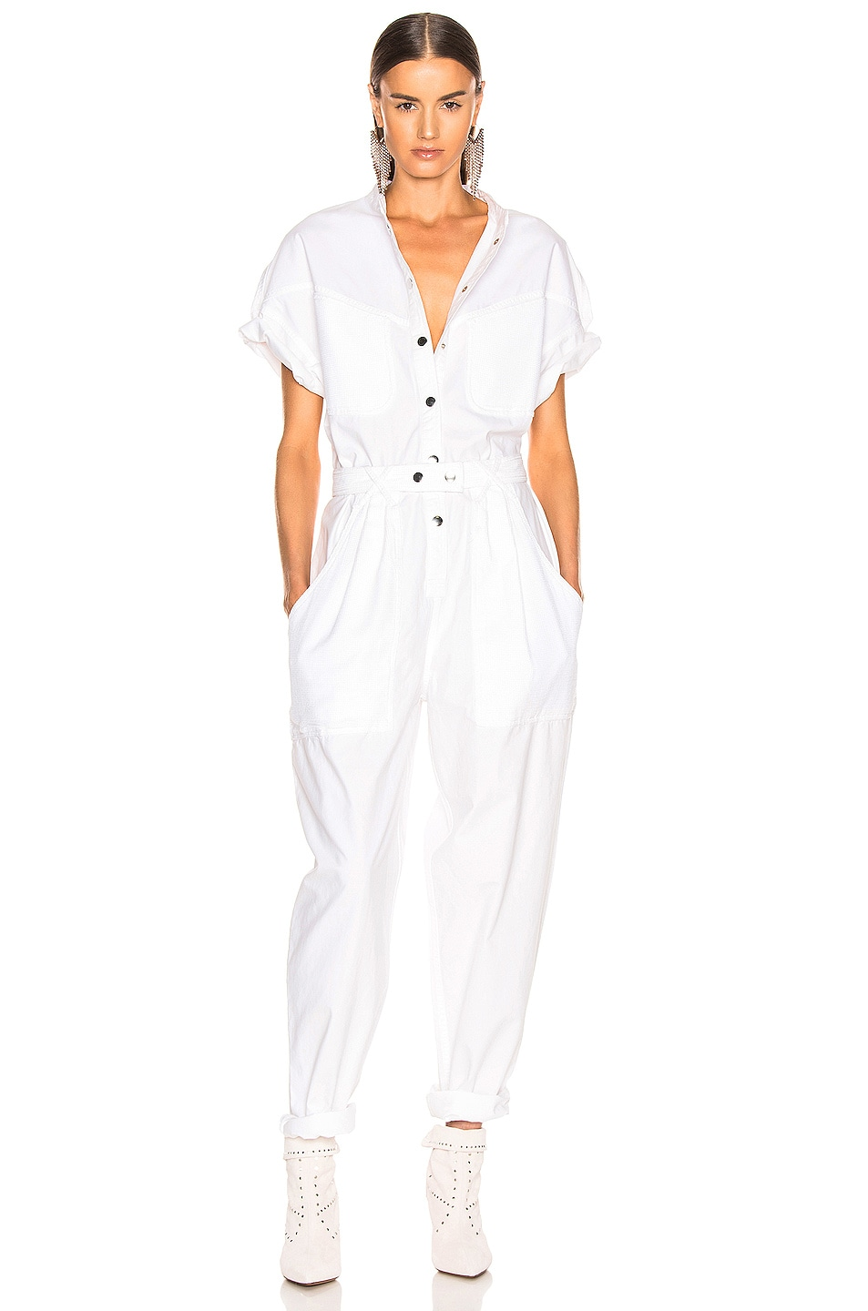 Image 1 of Isabel Marant Tundra Overall in White