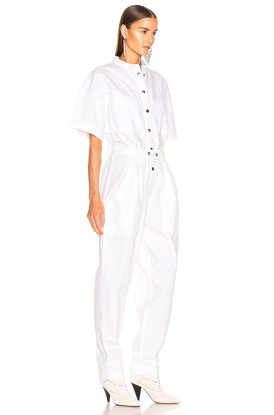 Image 2 of Isabel Marant Tundra Overall in White