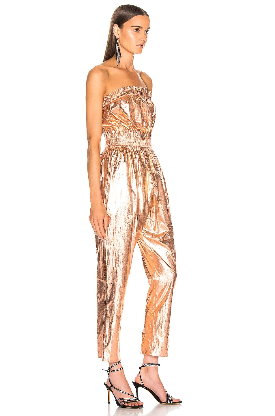 Image 3 of Isabel Marant Timi Overall in Rosegold