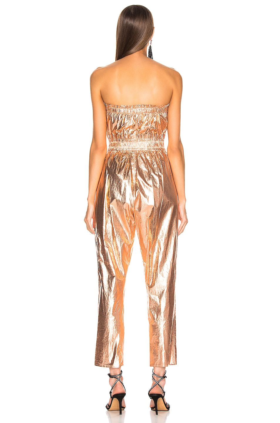 Image 4 of Isabel Marant Timi Overall in Rosegold