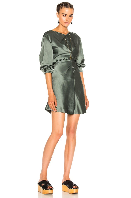 Image 1 of Isabel Marant Rad Dress in Grayish Green