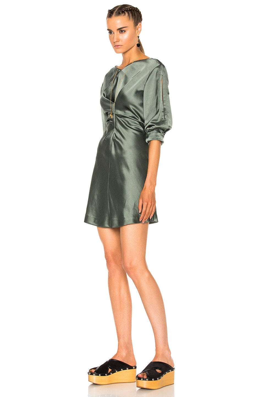 Image 2 of Isabel Marant Rad Dress in Grayish Green