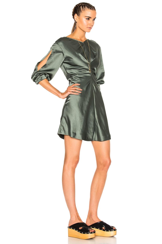 Image 3 of Isabel Marant Rad Dress in Grayish Green