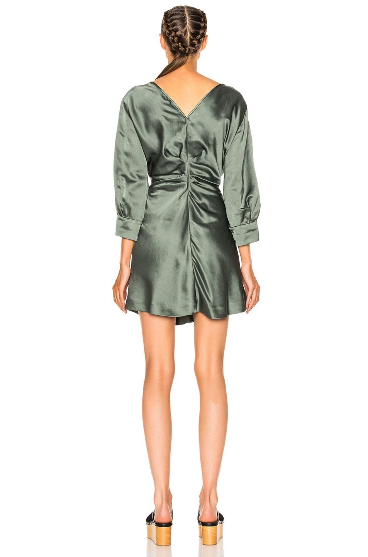 Image 4 of Isabel Marant Rad Dress in Grayish Green