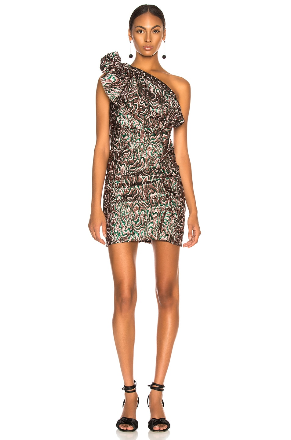 Image 1 of Isabel Marant Synee Dress in Green