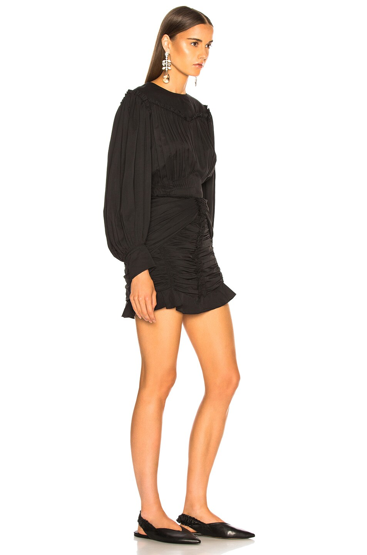 Image 2 of Isabel Marant Unice Dress in Black
