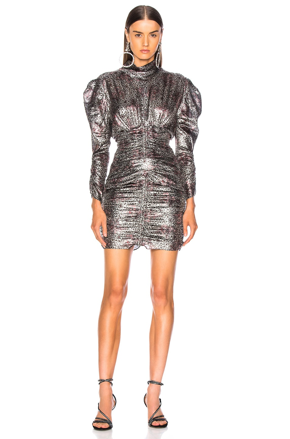 Image 1 of Isabel Marant Pandor Dress in Silver