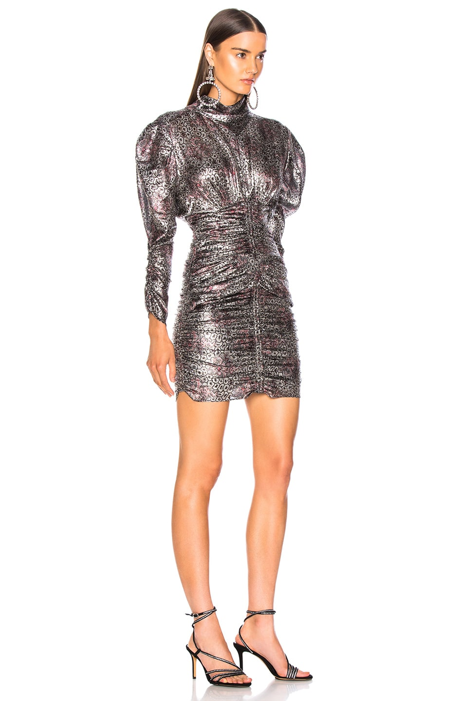 Image 2 of Isabel Marant Pandor Dress in Silver