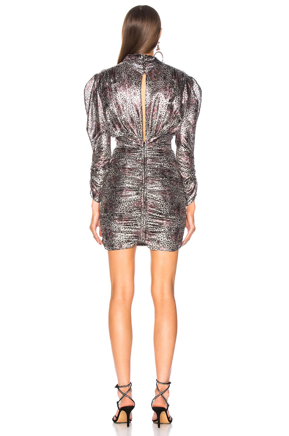 Image 3 of Isabel Marant Pandor Dress in Silver