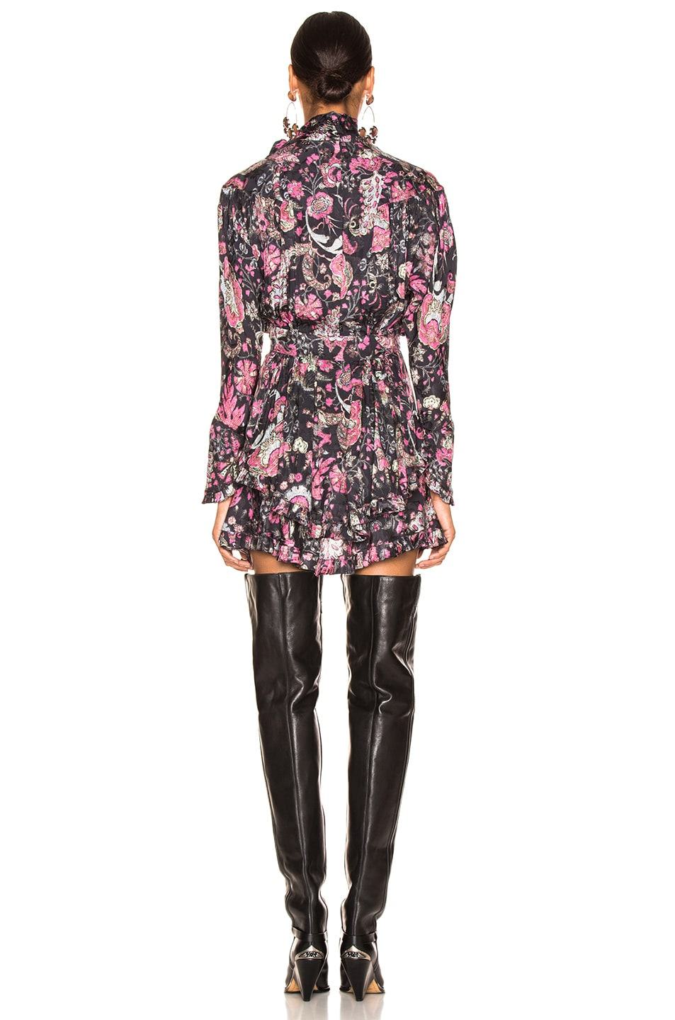 Image 3 of Isabel Marant Josephine Dress in Faded Black