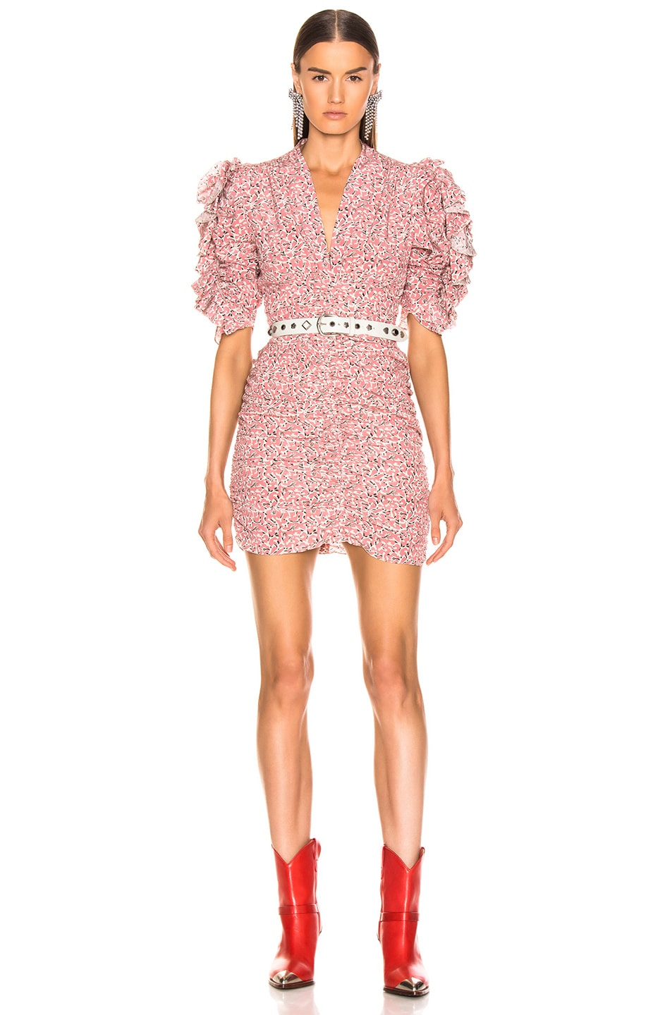 Image 1 of Isabel Marant Andor Dress in Pink