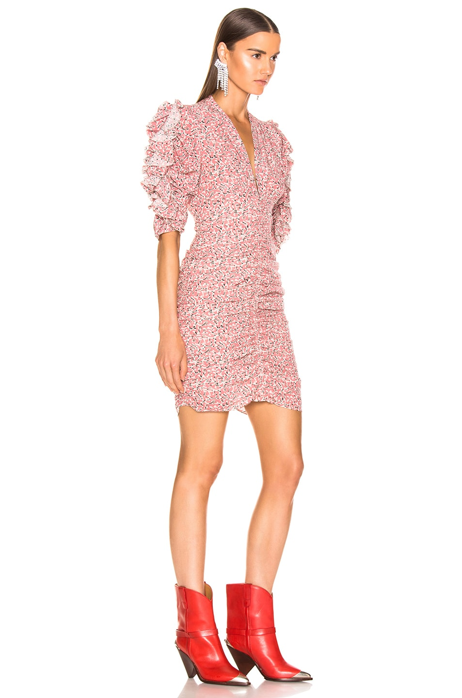Image 2 of Isabel Marant Andor Dress in Pink