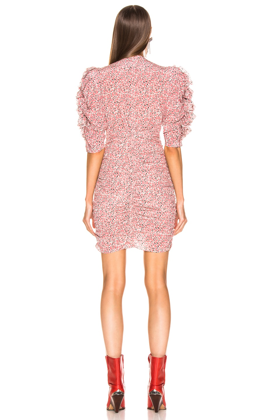 Image 3 of Isabel Marant Andor Dress in Pink