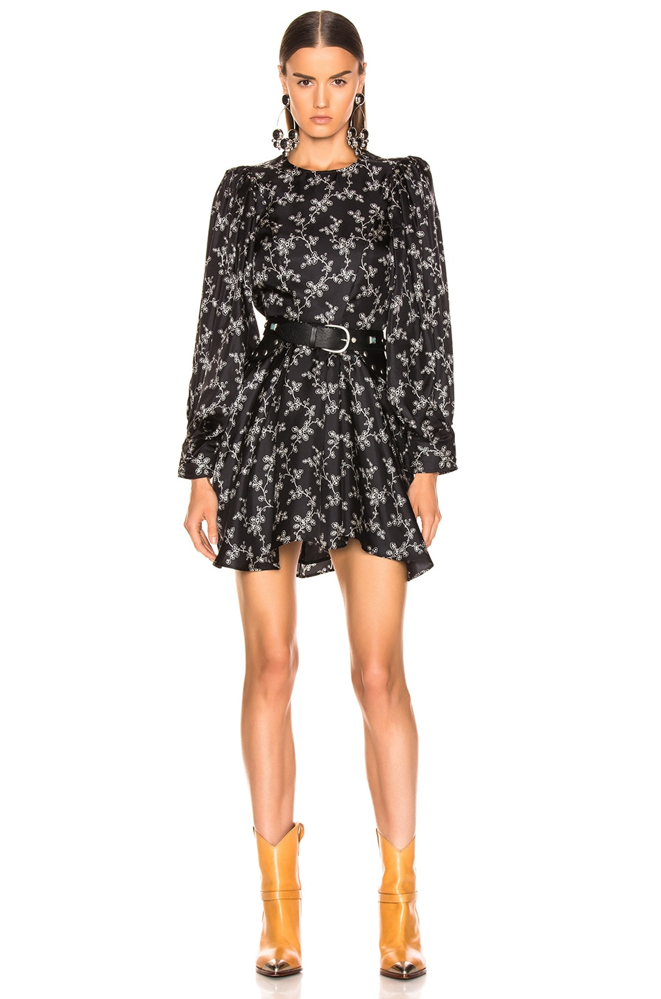 Image 1 of Isabel Marant Reone Dress in Black