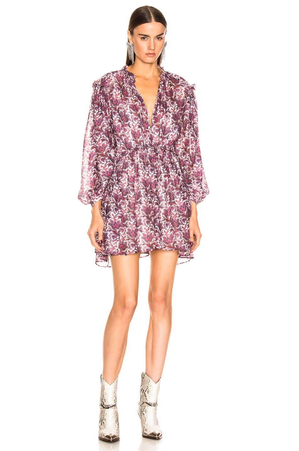 Image 1 of Isabel Marant Nydia Dress in Violet