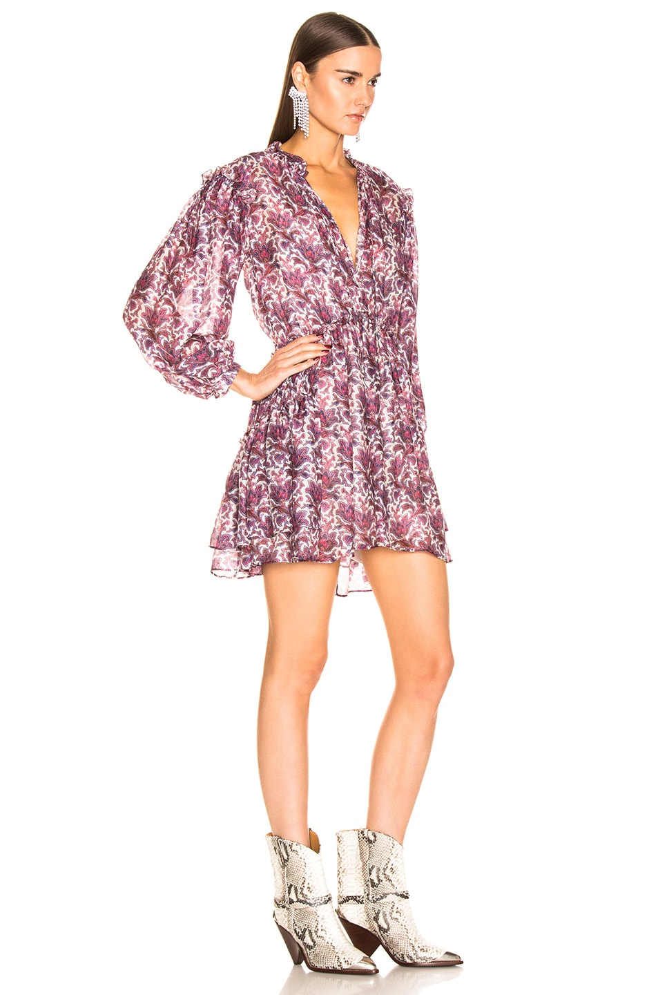 Image 2 of Isabel Marant Nydia Dress in Violet