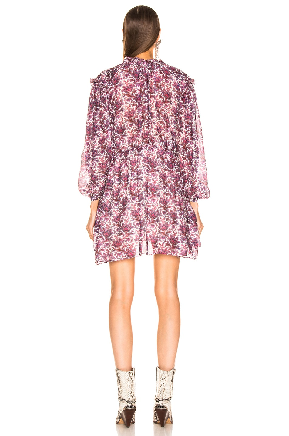 Image 3 of Isabel Marant Nydia Dress in Violet