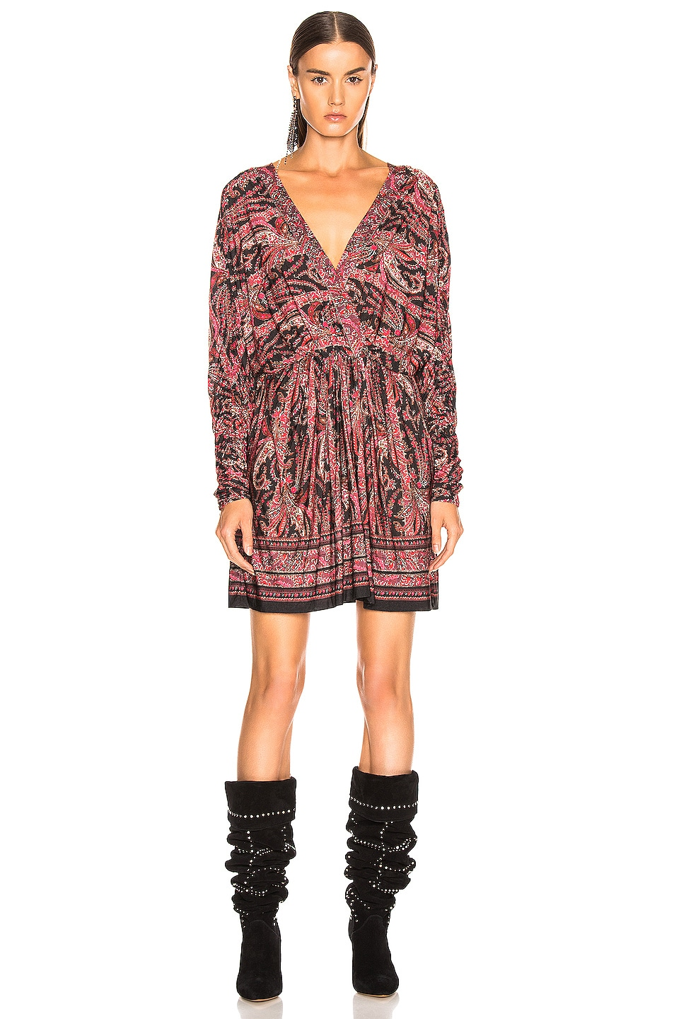 Image 2 of Isabel Marant Wyle Dress in Black