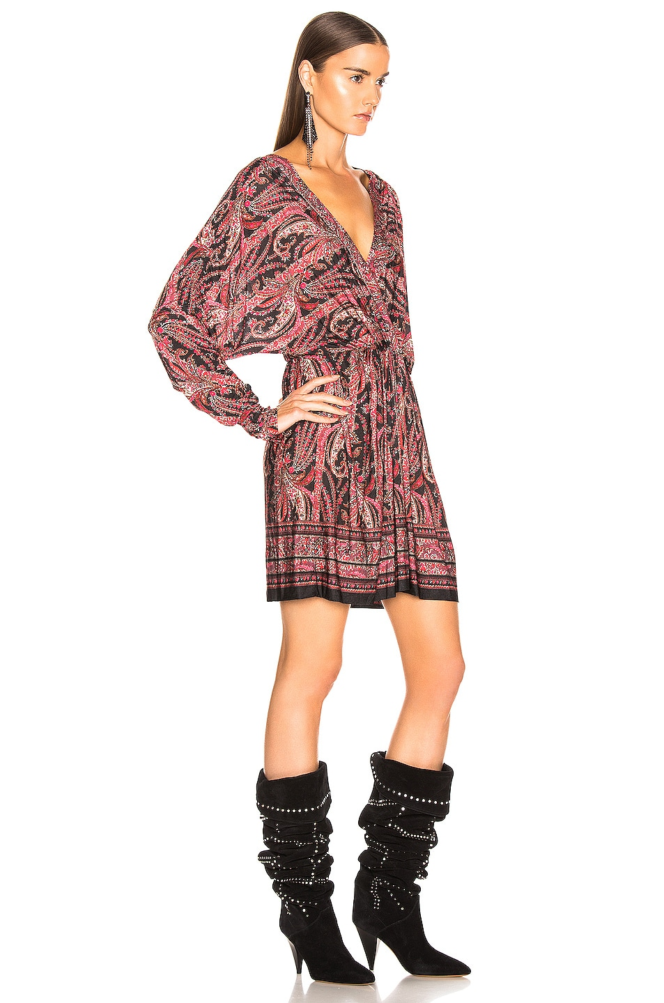 Image 3 of Isabel Marant Wyle Dress in Black