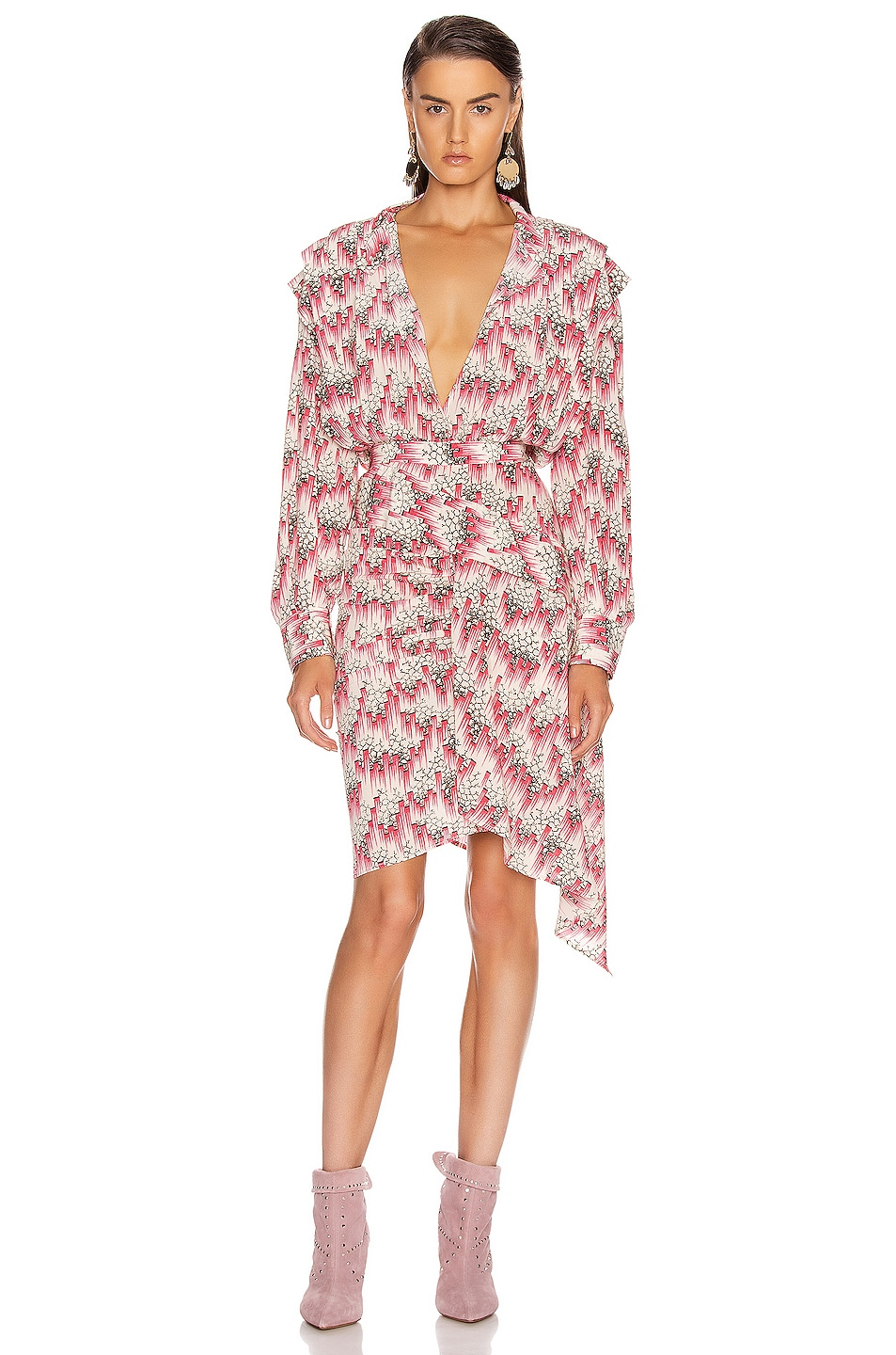 Image 1 of Isabel Marant Rieti Dress in Pink