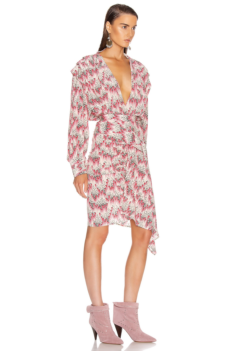 Image 2 of Isabel Marant Rieti Dress in Pink