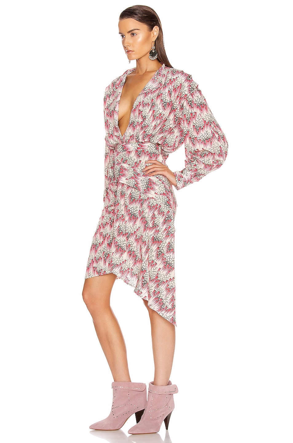 Image 3 of Isabel Marant Rieti Dress in Pink