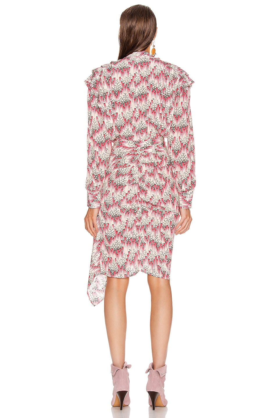 Image 4 of Isabel Marant Rieti Dress in Pink