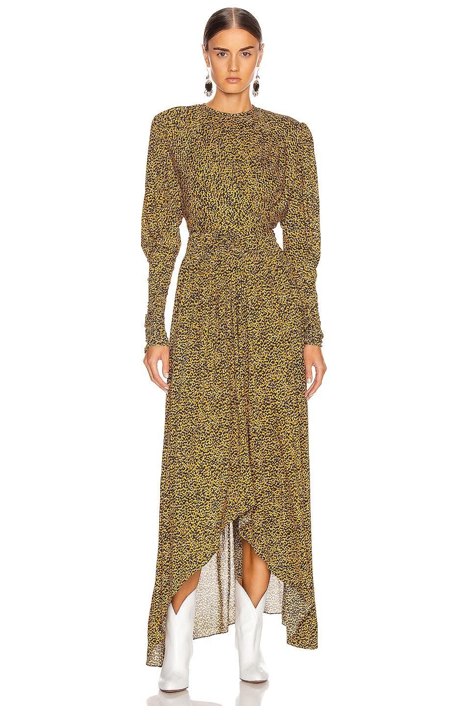 Image 1 of Isabel Marant Jucienne Dress in Fauve
