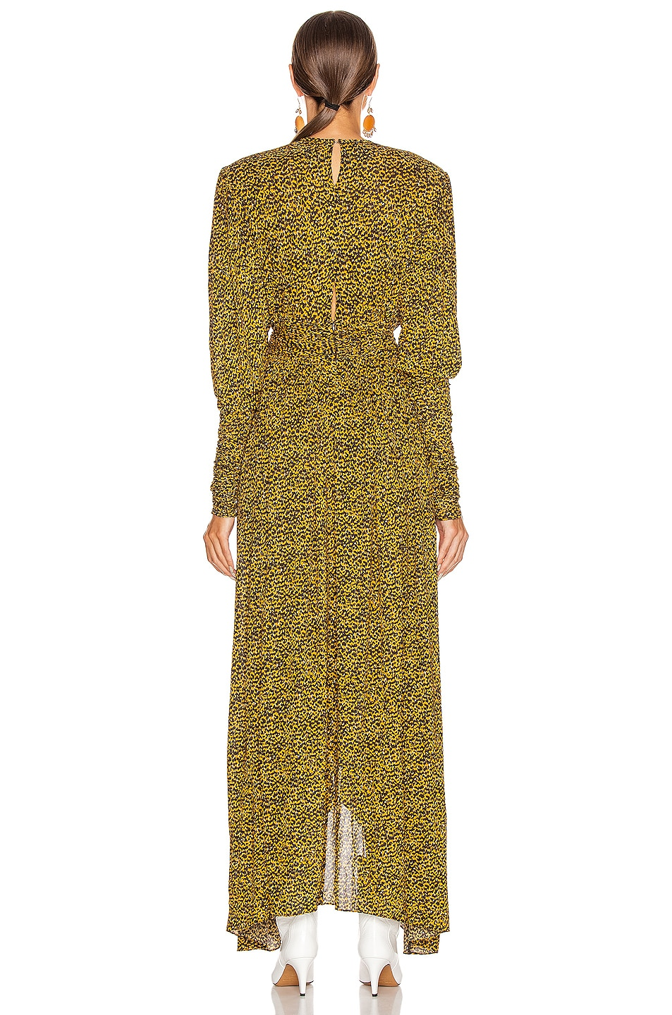 Image 3 of Isabel Marant Jucienne Dress in Fauve