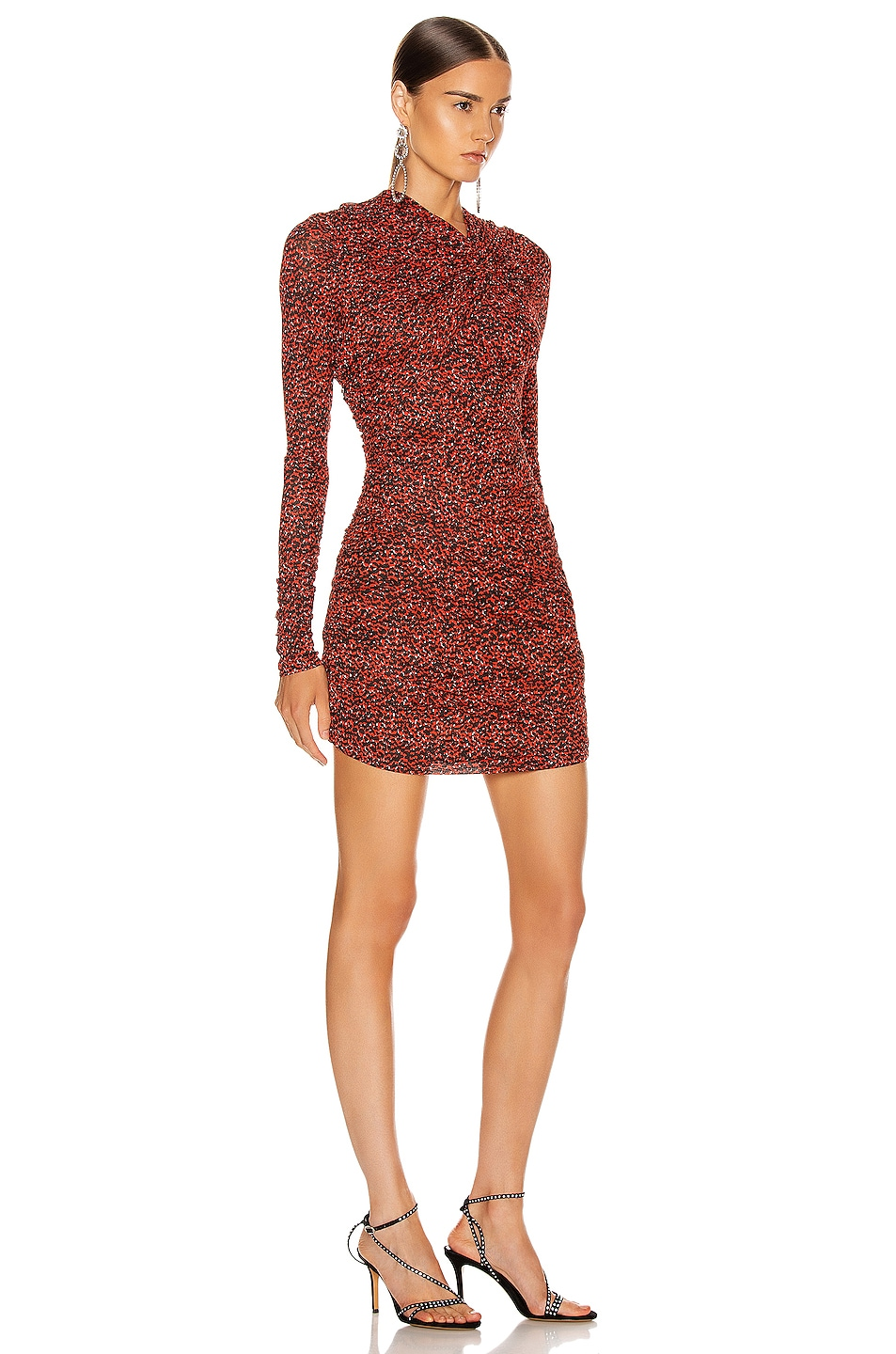 Image 2 of Isabel Marant Jobia Dress in Red