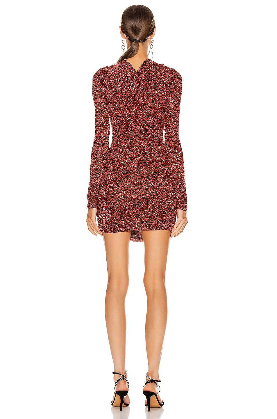 Image 3 of Isabel Marant Jobia Dress in Red