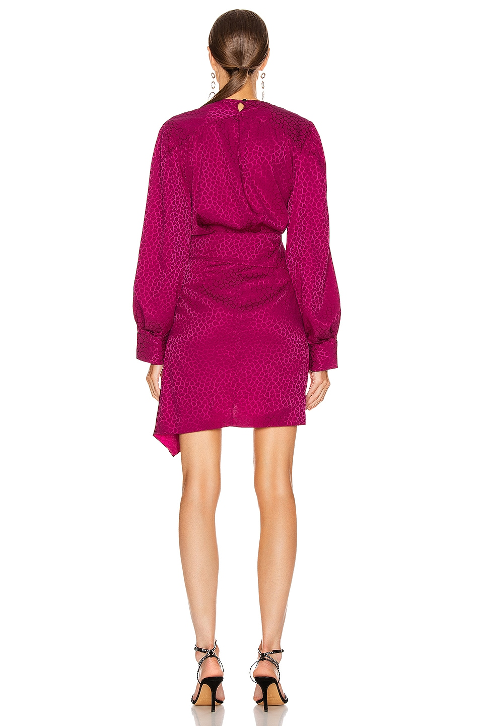 Image 4 of Isabel Marant Rachel Dress in Fuchsia