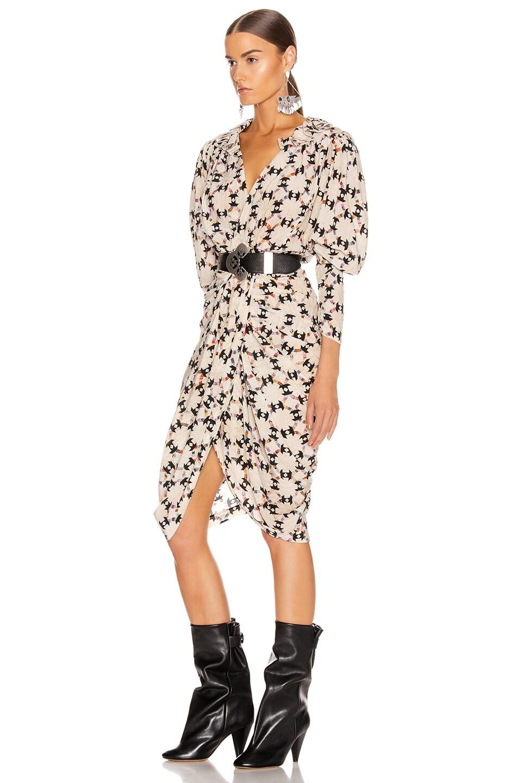 Image 3 of Isabel Marant Blandine Dress in Ecru
