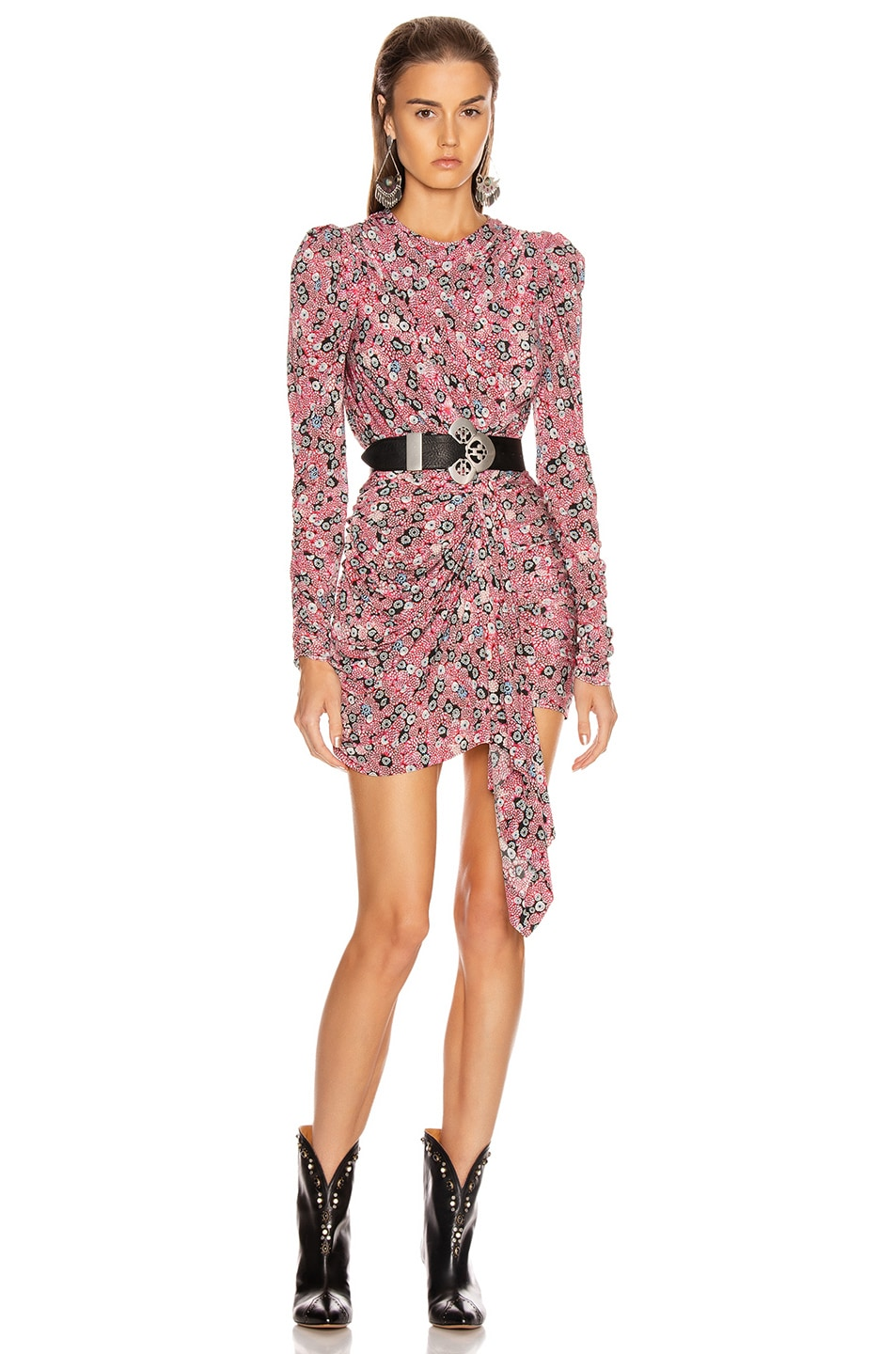 Image 1 of Isabel Marant Tonia Dress in Pink