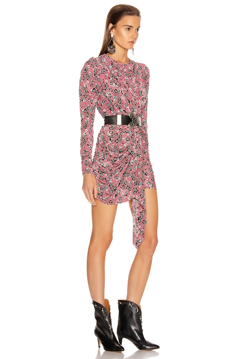 Image 2 of Isabel Marant Tonia Dress in Pink