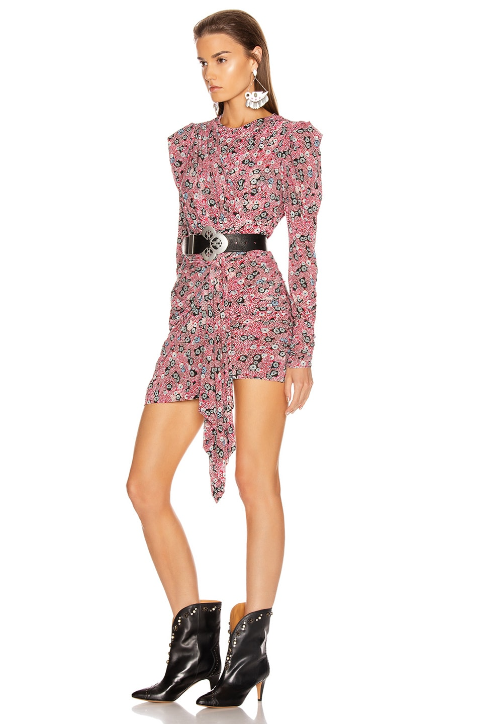 Image 3 of Isabel Marant Tonia Dress in Pink
