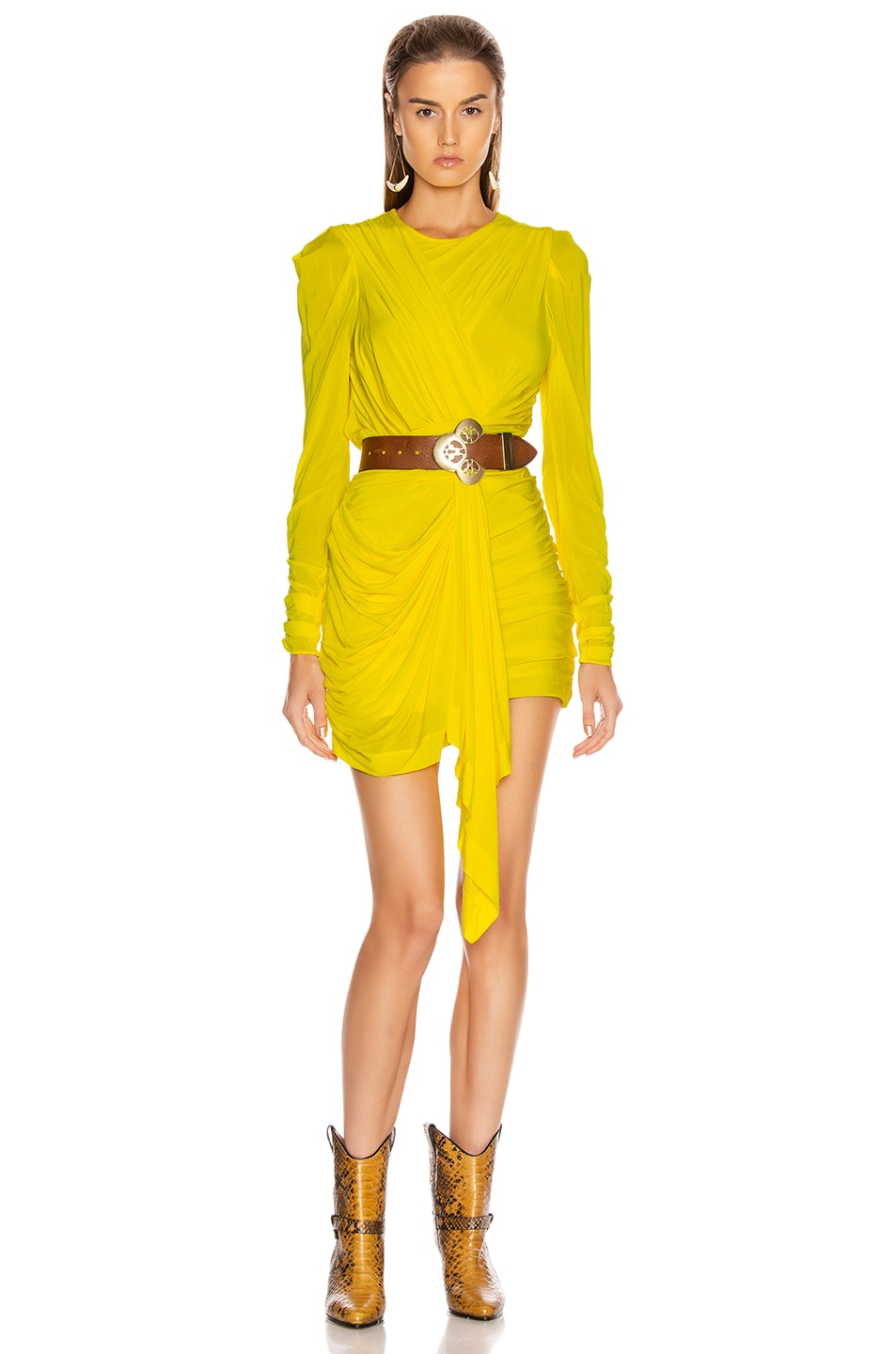 Image 1 of Isabel Marant Tonia Dress in Yellow