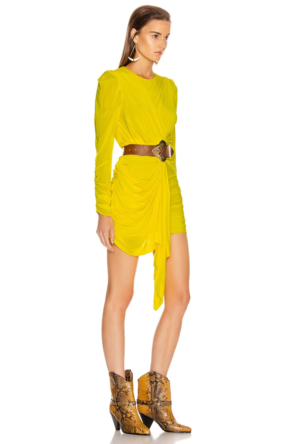 Image 2 of Isabel Marant Tonia Dress in Yellow