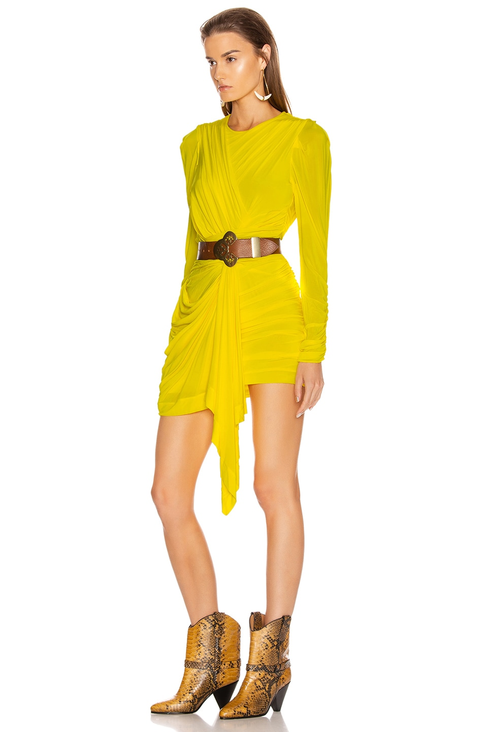 Image 3 of Isabel Marant Tonia Dress in Yellow