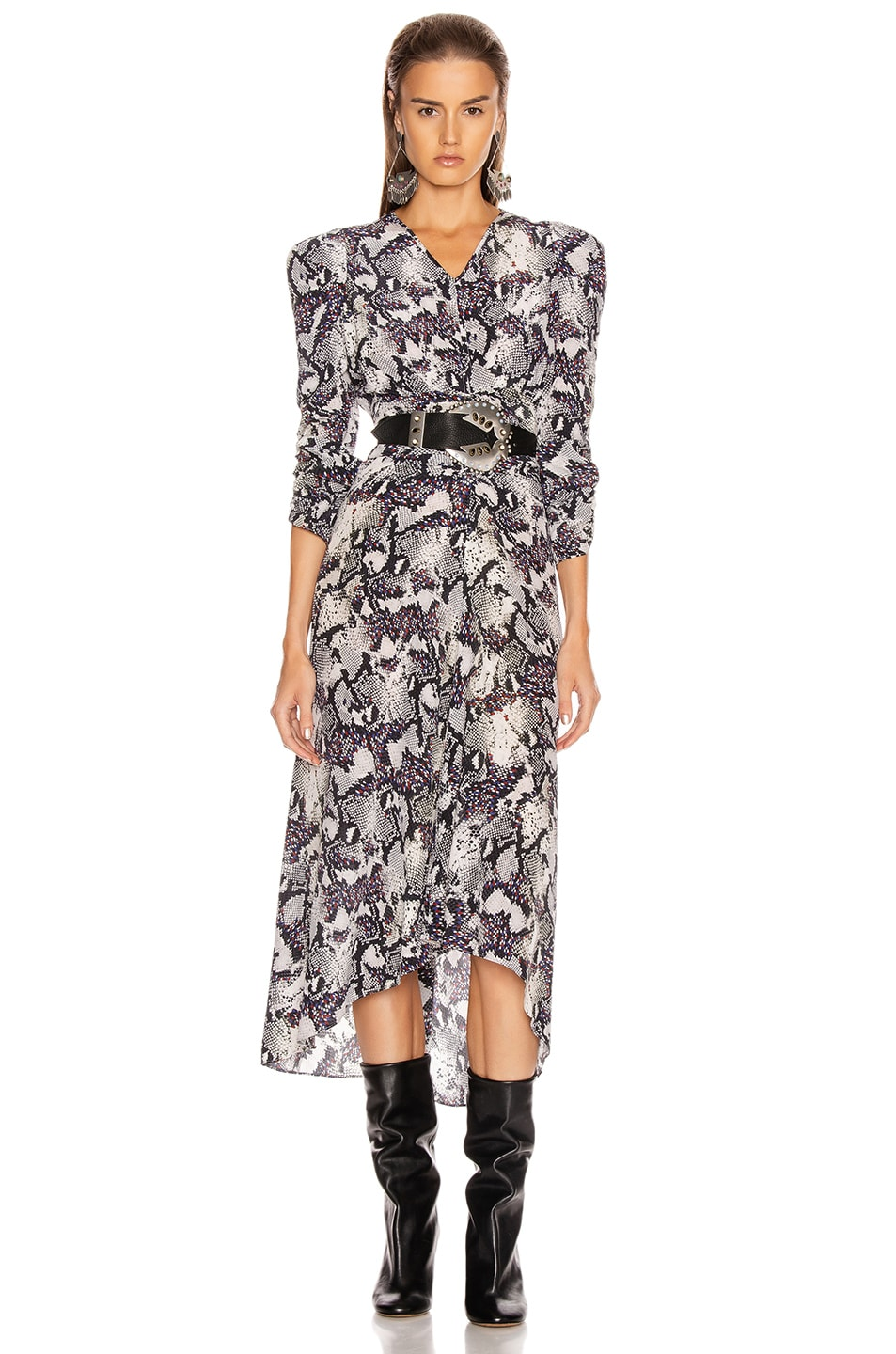 Image 1 of Isabel Marant Albi Dress in Chalk