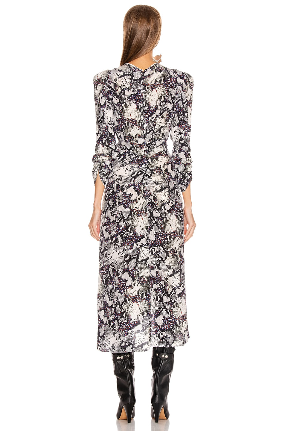 Image 3 of Isabel Marant Albi Dress in Chalk