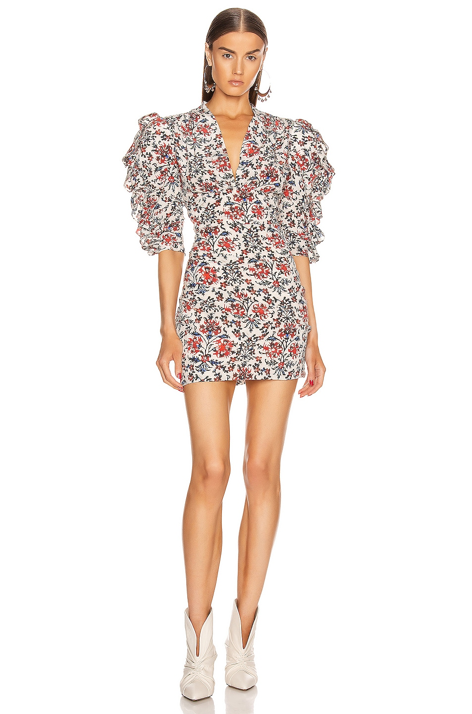 Image 1 of Isabel Marant Farah Dress in Red