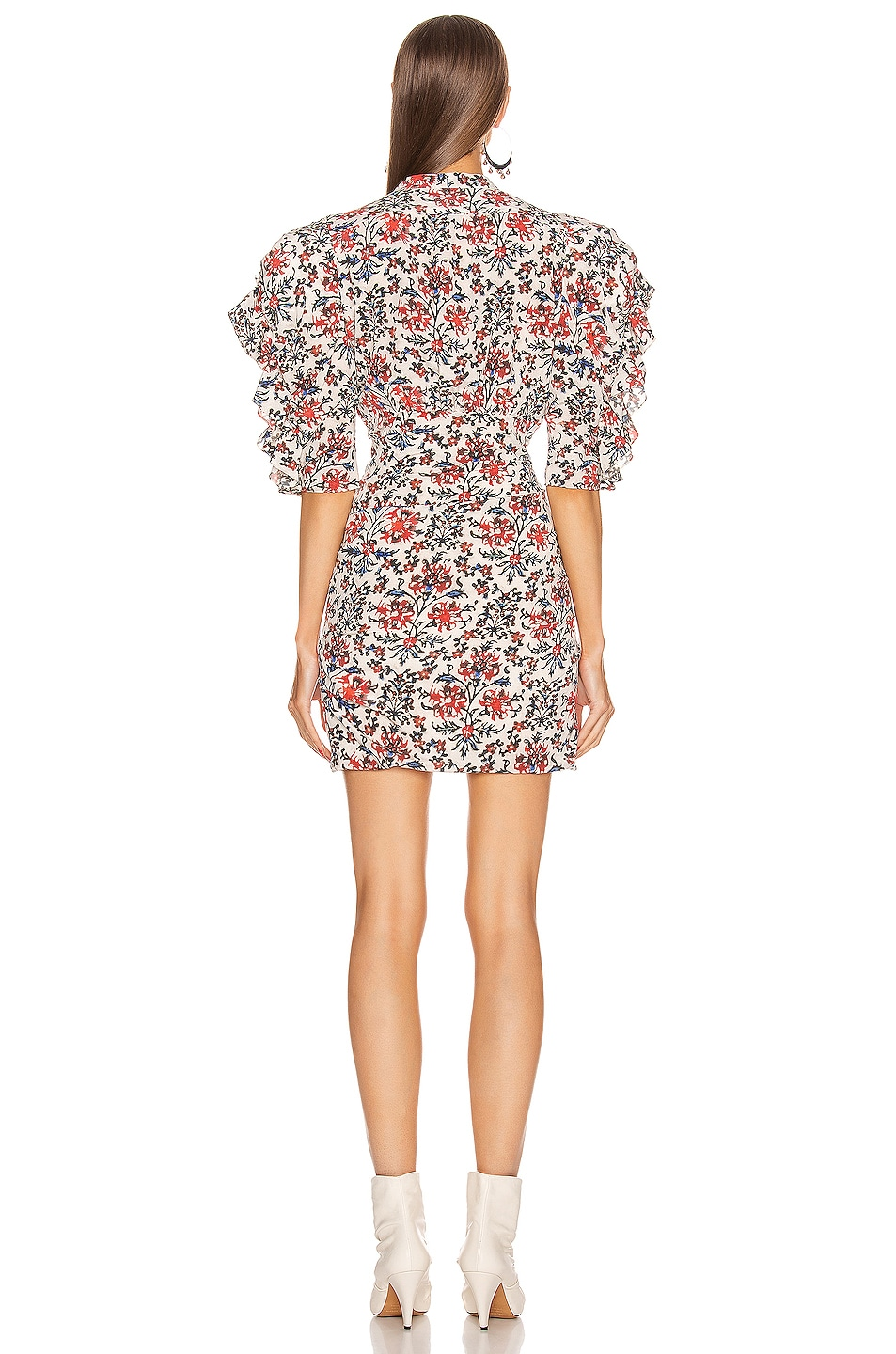 Image 3 of Isabel Marant Farah Dress in Red