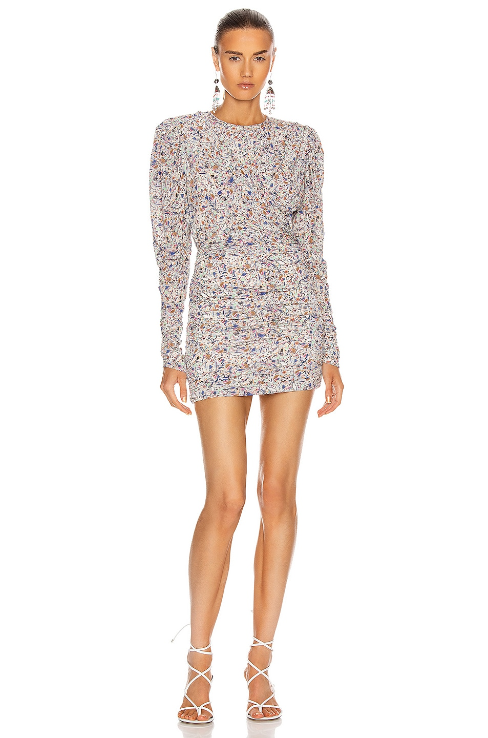Image 1 of Isabel Marant Ghita Dress in Multicolor
