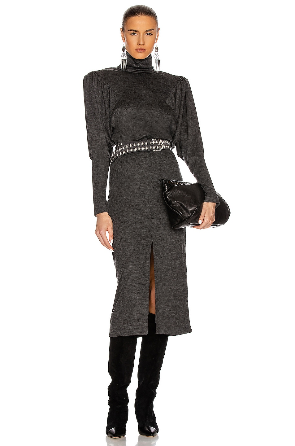 Image 1 of Isabel Marant Genia Dress in Anthracite