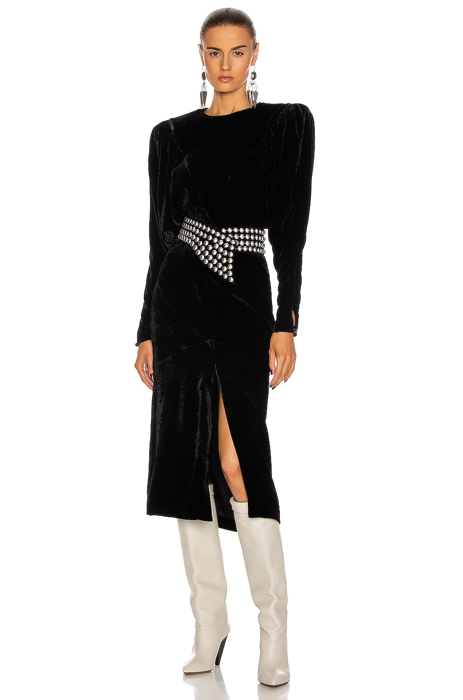 Image 1 of Isabel Marant Geniasi Dress in Black